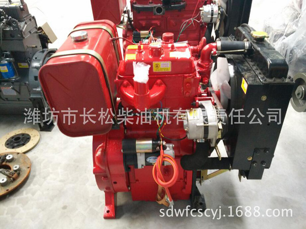 2 cylinder and 2110 diesel engine for fire fighting