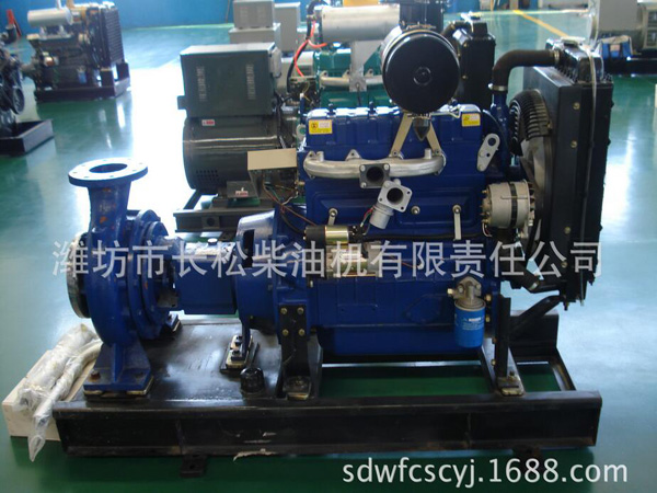 Four cylinder water cooled 4100G pump unit