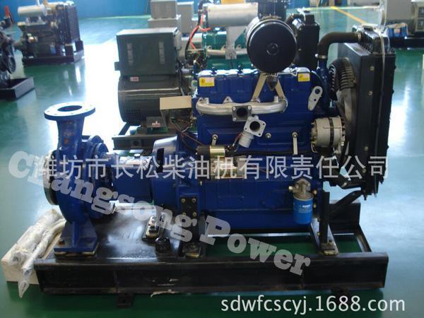 四缸水冷4100G 水泵机组
